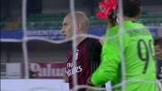Paletta anticipa Floro Flores durante Chievo-Milan