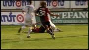 Fallo di Peluso, Lazzari cade ed è rigore per il Cagliari