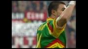 Goal di Bojinov: punizione gioiello a San Siro per l'attaccante del Lecce