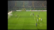 Zampagna spreca un calcio di rigore per l'Atalanta