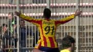 La doppietta di Bertolacci chiude i conti tra Lecce e Udinese