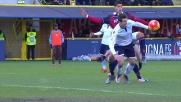 Rigore per la Lazio a Bologna per fallo di Masina su Klose