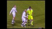 Tackle duro di De Silvestri su Capuano, la Lazio rimane in nove a Palermo