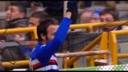 Al Marassi Semioli inventa e Pazzini finalizza in rete la vittoria blucerchiata