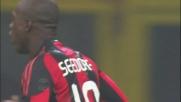 Il sinistro di Seedorf spaventa l'Inter e Castellazzi: fuori di un niente
