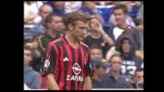 Shevchenko dopo una bella azione non trova il goal con la Sampdoria