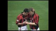 Goal di Bierhoff che ringrazia Guglielminpietro per l'assist contro l'Empoli