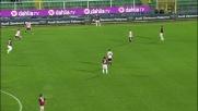 Miccoli cerca l'angolino ma la parata di Dida nega il goal al Palermo