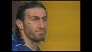 Riganò sbaglia un goal in tuffo contro la Lazio