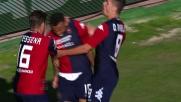 Joao Pedro sbaglia il rigore, ma sulla respinta trova il goal per il Cagliari