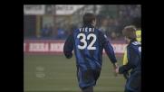 Deviazione di Vieri, goal del pareggio dell'Inter