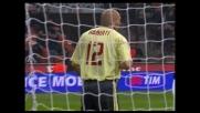 Abbiati salva il Milan contro il Genoa sul colpo di testa di Milito