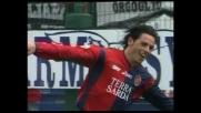 Esposito realizza il goal del poker per il Cagliari contro l'Empoli