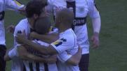 Il goal di Giovinco porta in vantaggio il Parma contro il Cagliari