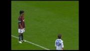 Ronaldinho apre le marcature per il Milan contro la Sampdoria con un goal dal dischetto
