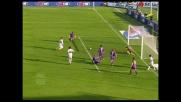 Masiero segna il goal della bandiera per il Genoa contro la Fiorentina