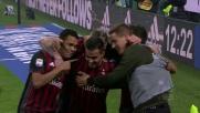Suso fa esplodere la Milano rossonera segnando il 2-1 nel derby