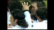 Cannavaro segna il goal dell'1-0 del Parma a San Siro su un errore di Dida