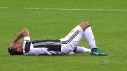 De Sciglio atterra Khedira nel match tra Milan e Juventus