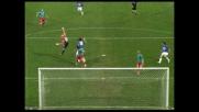 Palombo firma il goal del vantaggio per la Sampdoria contro il Cagliari con un gran tiro al volo