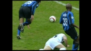 Samuel stende Iaquinta: espulso l'argentino dell'Inter
