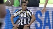 Parisi entra in scivolata in ritardo su Sanchez, è rigore per l'Udinese