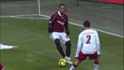 Finta e passaggio in mezzo a due di Ronaldinho col Livorno