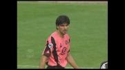 Iaquinta sfiora il goal contro la Juventus