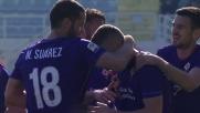 Tiro-cross a segno di Rebic: Fiorentina avanti sul Frosinone