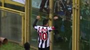 Di Natale, goal del pareggio contro il Bologna