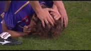 Contropiede perfetto della Fiorentina concluso in goal da Gilardino
