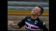 Cassano-goal: la Sampdoria aggancia la Lazio