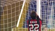 All'Olimpico il destro di Kaka centra il palo e grazia la Lazio