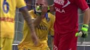 Rosi è ultimo baluardo del Frosinone: prodigioso salvataggio sulla linea