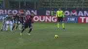 Il Cagliari sorprende la Juventus con il goal su rigore di Pinilla