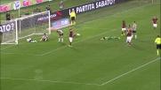 Totti fa goal all'Udinese ribadendo in rete un tiro di Gervinho respinto da Scuffet