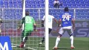Gentiletti mette in angolo il cross pericoloso della Sampdoria