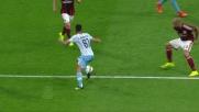 Candreva procura un rigore allo scadere in Milan-Lazio
