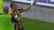 Goal di testa di Juanito Gomez nel match tra Verona e Torino