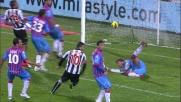 Due volte Di Natale: goal del pareggio contro il Catania