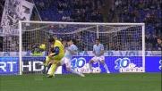 Goal di rapina di Paloschi all'Olimpico contro la Lazio