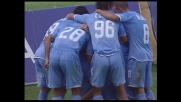 Lavezzi ringrazia Gargano e segna il terzo goal del Napoli al Friuli