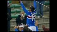 Goal su rigore di Flachi, la Sampdoria ribalta il match col Livorno