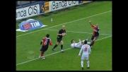 Bianco ostacola Ronaldo in area: rigore per il Milan