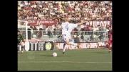 Occasione da goal per Tare che di sinistro spara su Amelia: si salva il Livorno