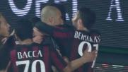 Alex colpisce sugli sviluppi di un corner e trascina il Milan contro il Frosinone