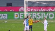 Helander di testa sfiora il goal nel derby contro il Chievo