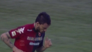 Pinilla tenta un goal impossibile in Cagliari-Inter
