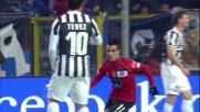 Maxi Moralez segna il goal dell'1-1 alla Juventus