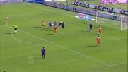 Asamoah realizza un goal di potenza contro la Fiorentina